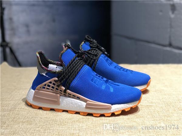 buy online fa51c 50d97 Pharrell Williams Human Race PW HU HOLI MC Heart Inspiration Idea Designer  Men Women Running Shoes Youth Happy Peace Equality Nerd Sneakers