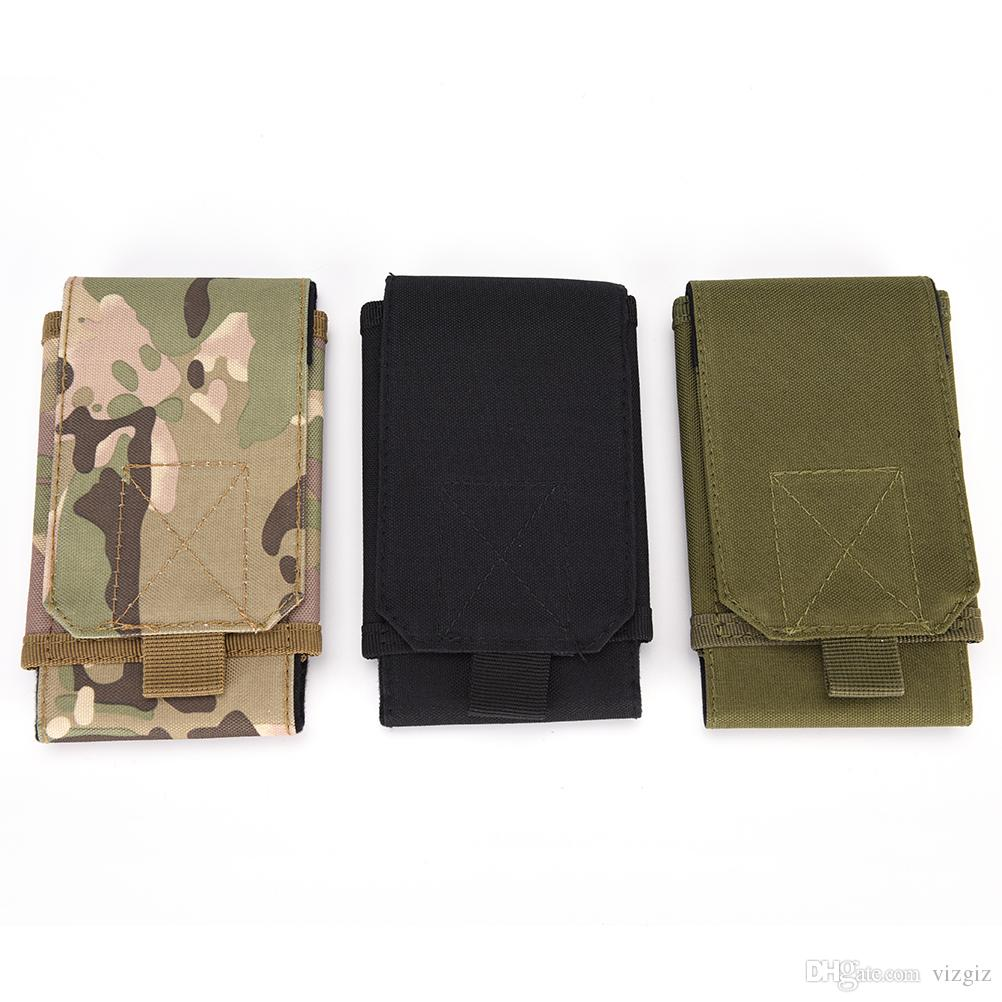 Universal Army Tactical Bag Cell Phone Belt Loop Hook Cover Case Pouch Holster for iPhone 6 5S/5 4S/4 for Galaxy S5 S4 S3
