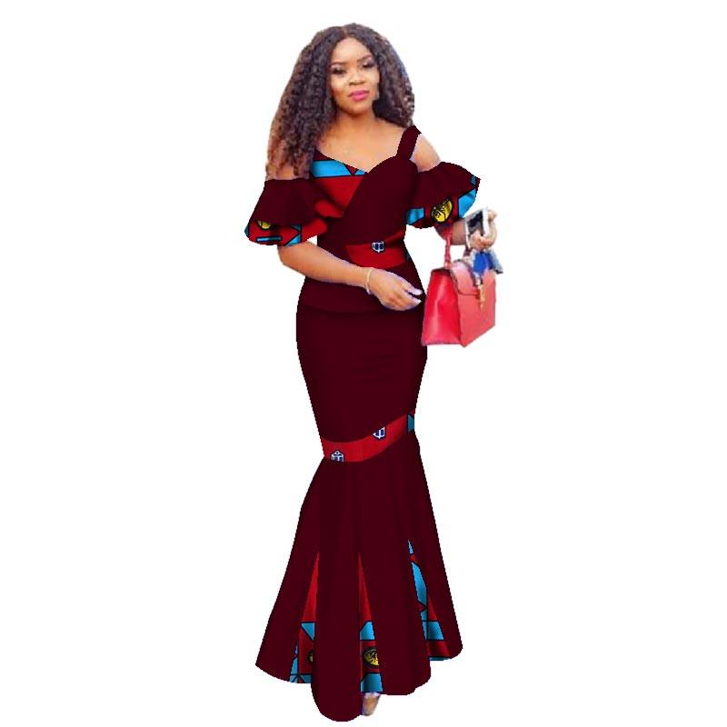 a19cf0bc3f7 2019 Summer Women Dress Skirt Sets Traditional African Women Set Clothing  Custom Made Tops + Skirts Hot Sale WY2886 Womens Floral Dresses Party  Dresses ...