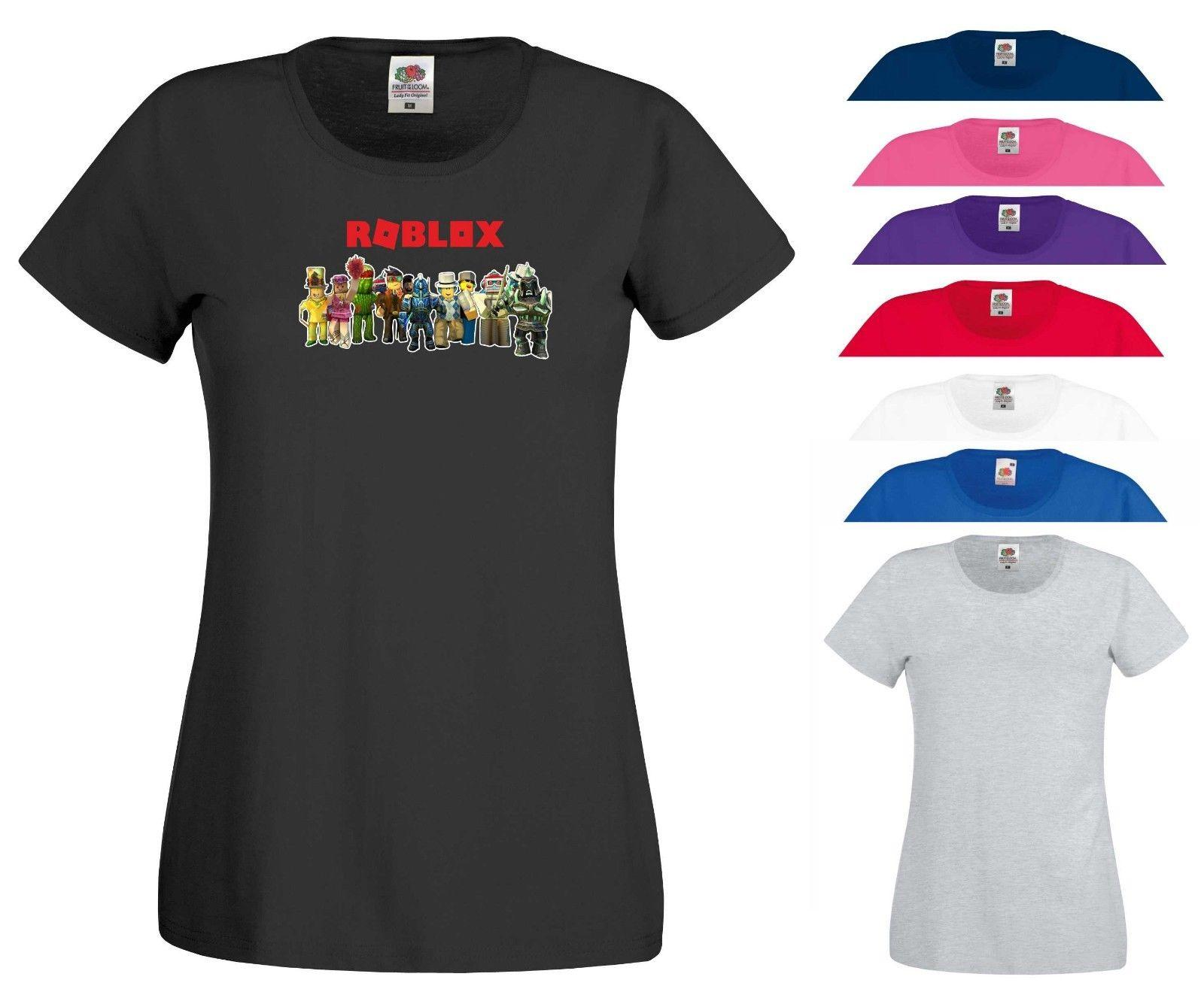 2947ea82918941 Roblox T Shirt Prison Life Builder Video Games Funny Xbox PS4 Gift Women Tee  Top Men Women Unisex Fashion Tshirt Offensive Shirts Ringer T Shirts From  ...