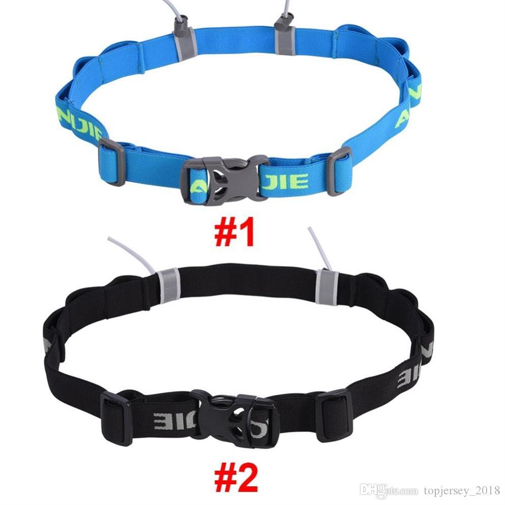 Sports & Entertainment Running Bags Aonijie Unisex Triathlon Marathon Race Number Belt With Gel Holder Running Belt Cloth Belt Motor Running Outdoor Sports