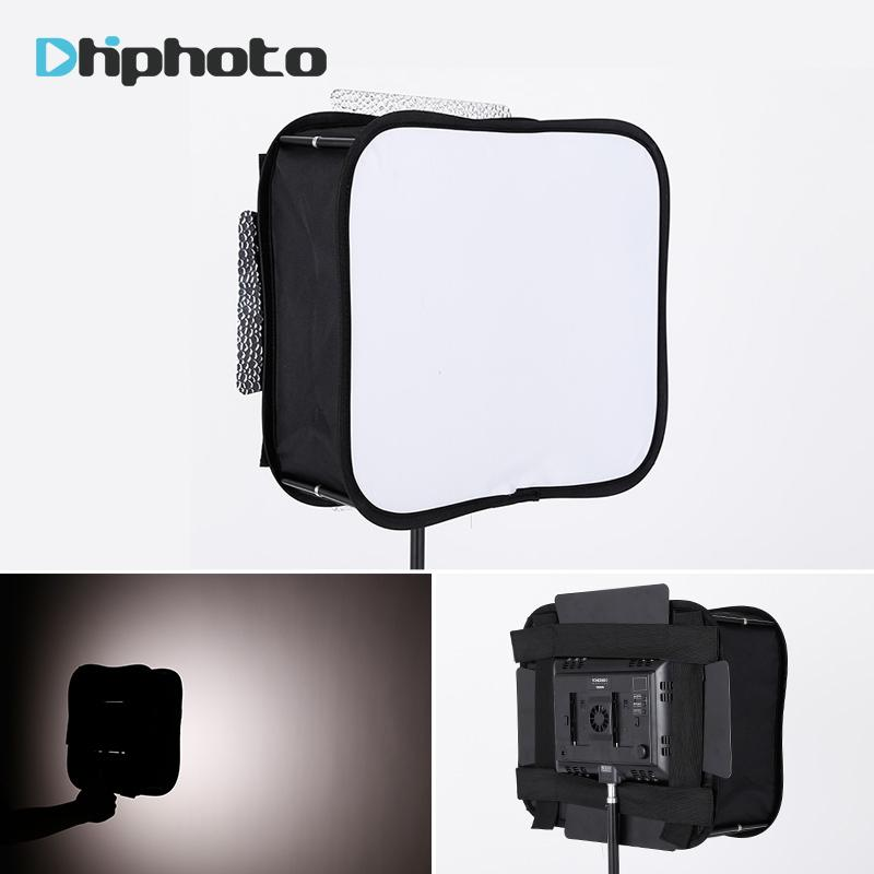 studio softbox SB600/SB300 Studio Softbox Diffuser for YONGNUO 600L II 900 YN300 YN300 III Air Led Video Light Panel Foldable Soft Filter