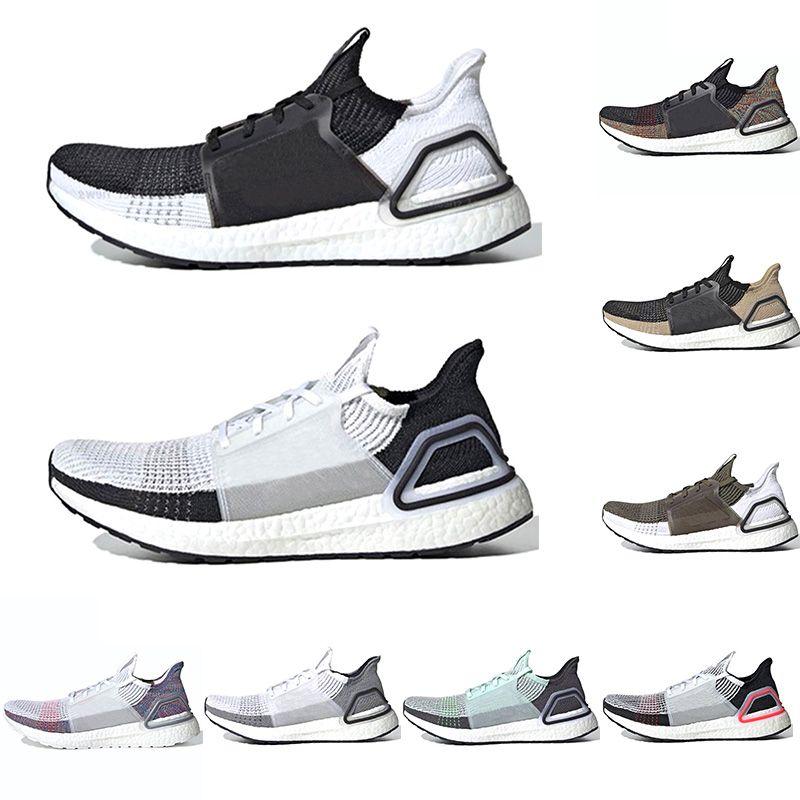 2019 Ultra Boost 19 Hombres Mujeres Zapatillas de running Ultraboost 5.0 Láser Rojo Oreo Marrón Núcleo Negro Diseñador Trainer Sport Sneaker