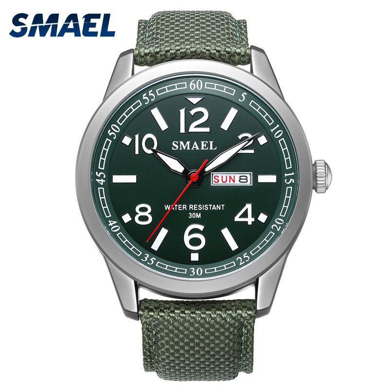 Compre Nuevo SMAEL Hombres Relojes Militar 2018 Aleación Gran Dial Reloj  Deportivo Hombres Impermeable Reloj De La Marca Superior 1317 Reloj Digital  Pulsera ... 98dbf5311f98