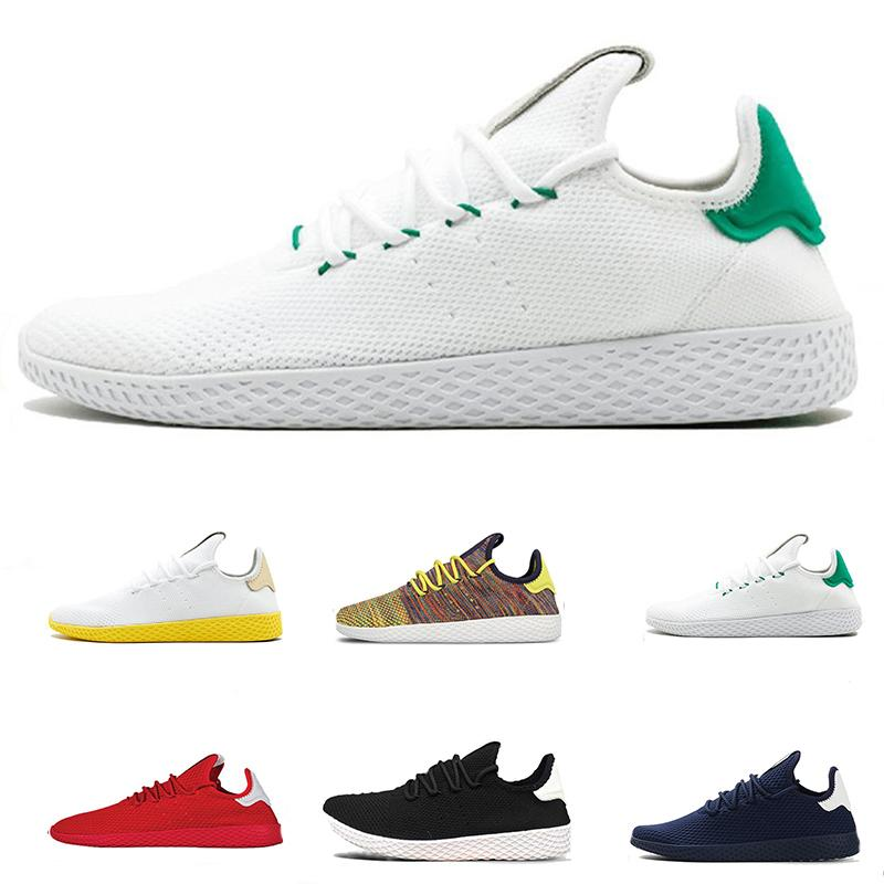 2019 Pharrell Williams X Stan Smith Running Shoes Mens Women Tennis Hu  Runner Sports Shoe White Green Trainers Designer Sneakers Size 36 46 From  ... 5eff7cb22