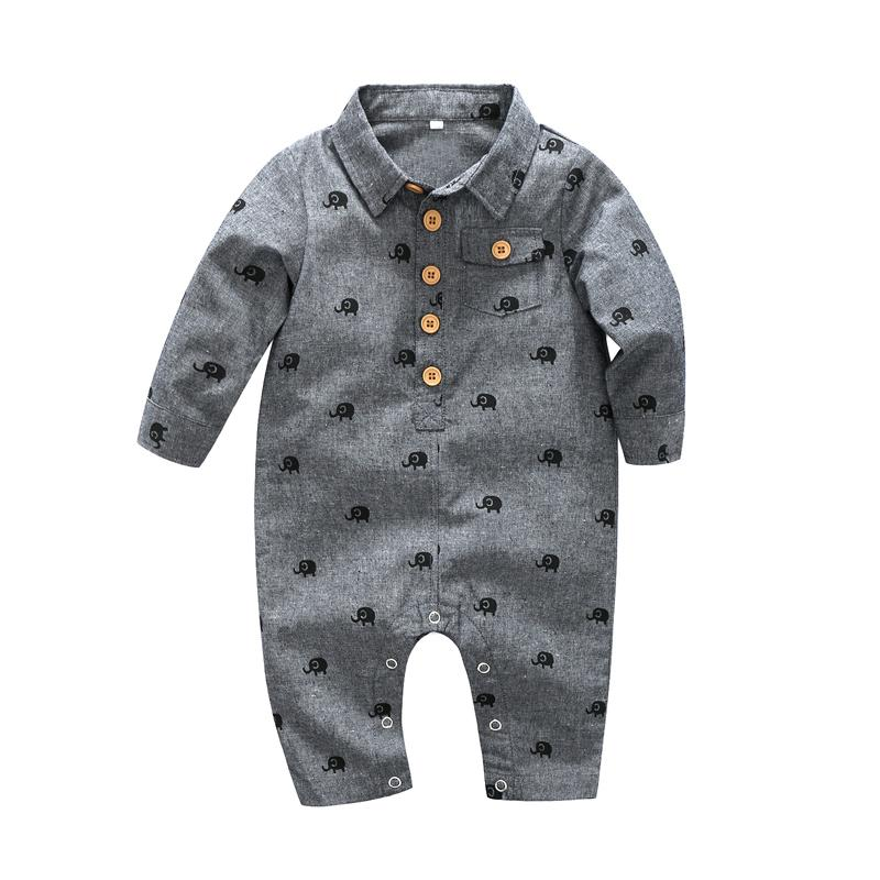 a6814c280cf 2019 Baby Boy Clothes One Pieces Jumpsuits Baby Clothing