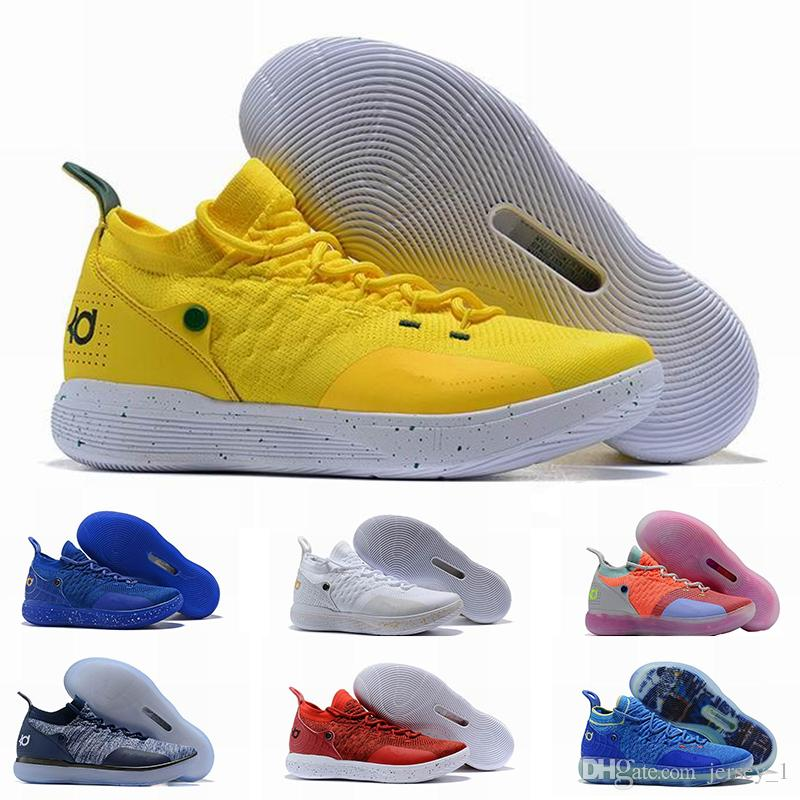 fd6e9a4dc3795f 2019 2019 New KD11 Mens Basketball Shoes High Quality EP White Orange Foam  Pink Paranoid Oreo ICE Sports Kevin Durant XI KD11 Sneakers Shoe From  Jersey 1