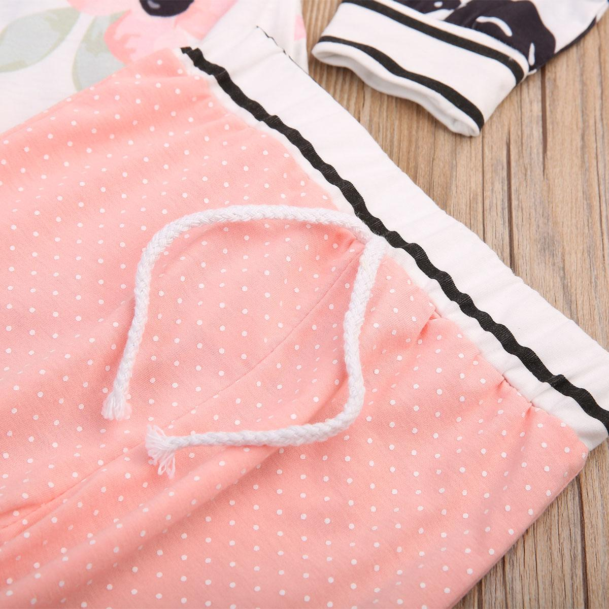 Pudcoco Marca outono bebé Meninos Roupas Set queda Roupas de bebê recém-nascido Quente infantil casaco com capuz Tops Calças Roupas Sets 0-36M