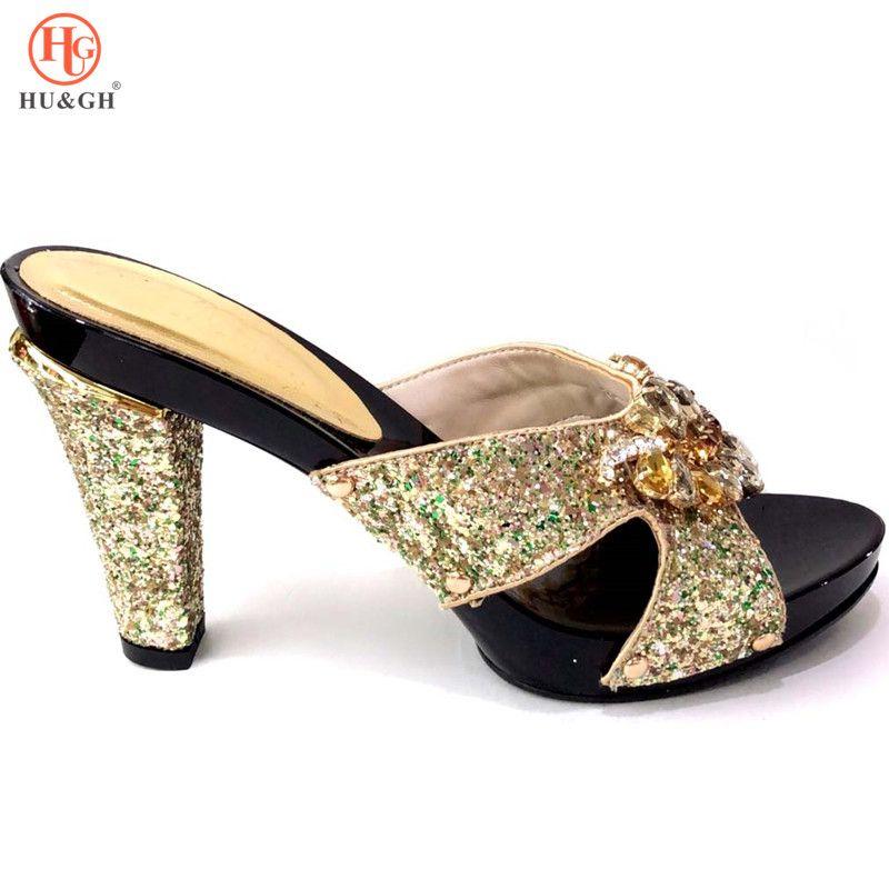 e33301be779 Compre Sapatas De Vestido De Casamento Senhoras Italianas Sexy Bombas De  Salto Alto Strass Design Senhoras Mulheres Bombas Sapatos Sandália Africano  Para As ...