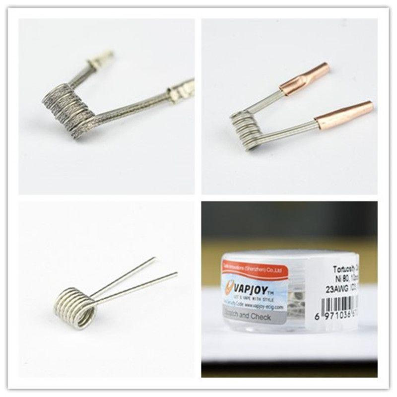 original vapjoy clapton parallel interlock tortuosity ni80 prebuilt
