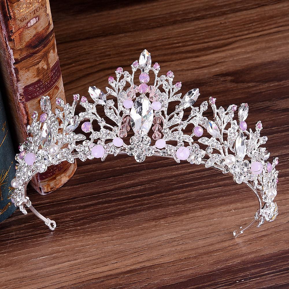 Hair Jewelry Beautiful 2019 Nuevo Lujo Princesa De Oro Joyeria De La Cabeza Y Gran Corona Diadema Boda Accesorios Para El Cabello Accesorios De La Cena Jewelry Sets & More