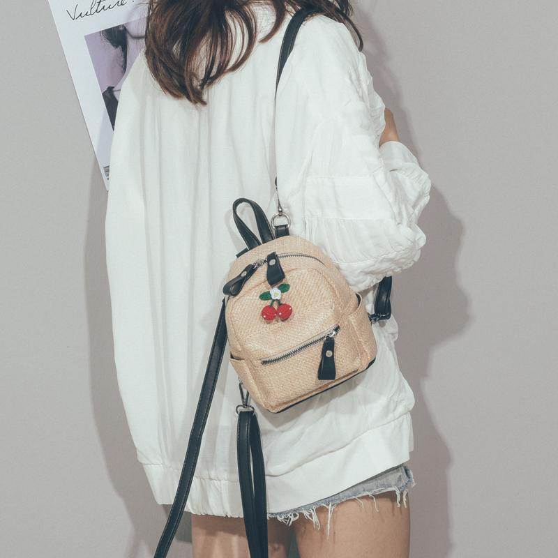 2019 Cute Backpack For Teen Kids Mini Back Pack Quality Straw Women S  Shoulder Bag Little Backpacks Cute Girl Travel Rucksack Laptop Backpack  Backpacks For ... 03a1faedac