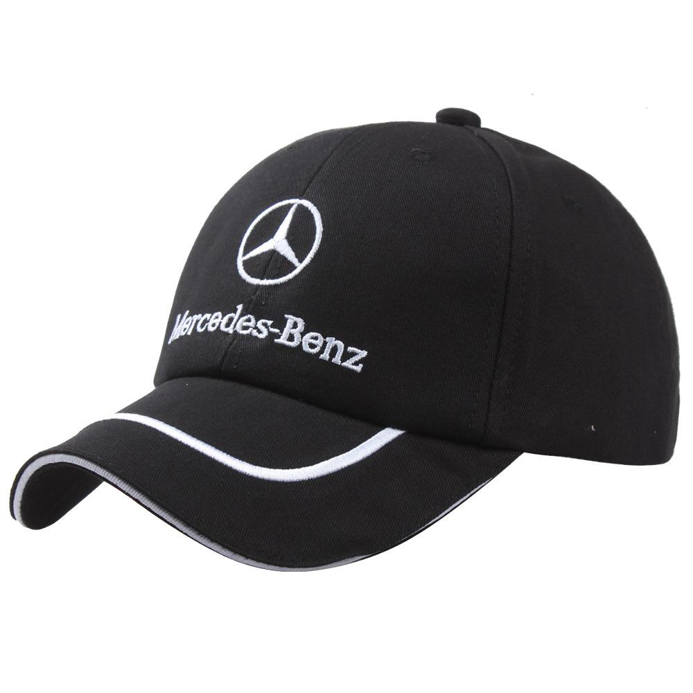 MERCEDES BENZ Baseball Cap Car Auto Logo AMG Car Embroidery Adjustable  Sport Baseball Snapback New Fashion Cotton Hat Men Women Ball Cap Wholesale  Hats From ... 5a5e41d3a3ed