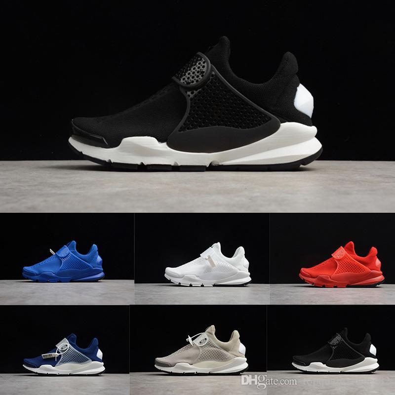 brand new 95979 1439c Presto Fragment X Sock Dart SP Women Men Running Shoes Black White Oreo  Blue Red Presto Sports Mens Designer Sneakers Size 36-45