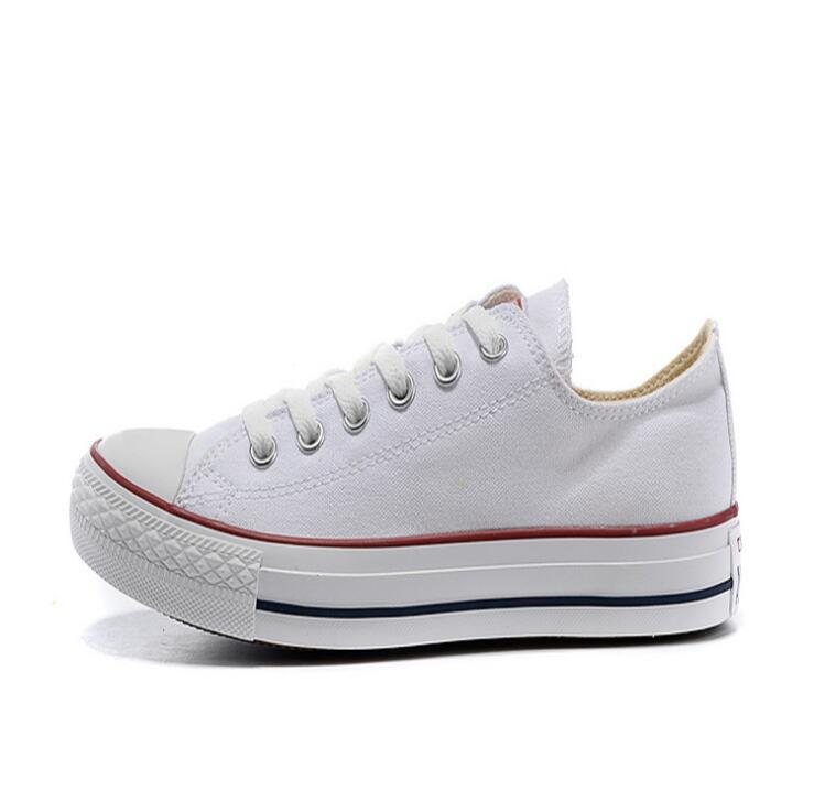 Wholesale and retail 2017 New big Size 35-45 Casual Shoes Low top stars Classic Canvas Shoe Men's/Women's Canvas Shoes