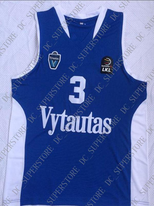 8b4f7568f63 Cheap Wholesale Liangelo Ball Jersey 3 Lithuania Vytautas Stitched ...