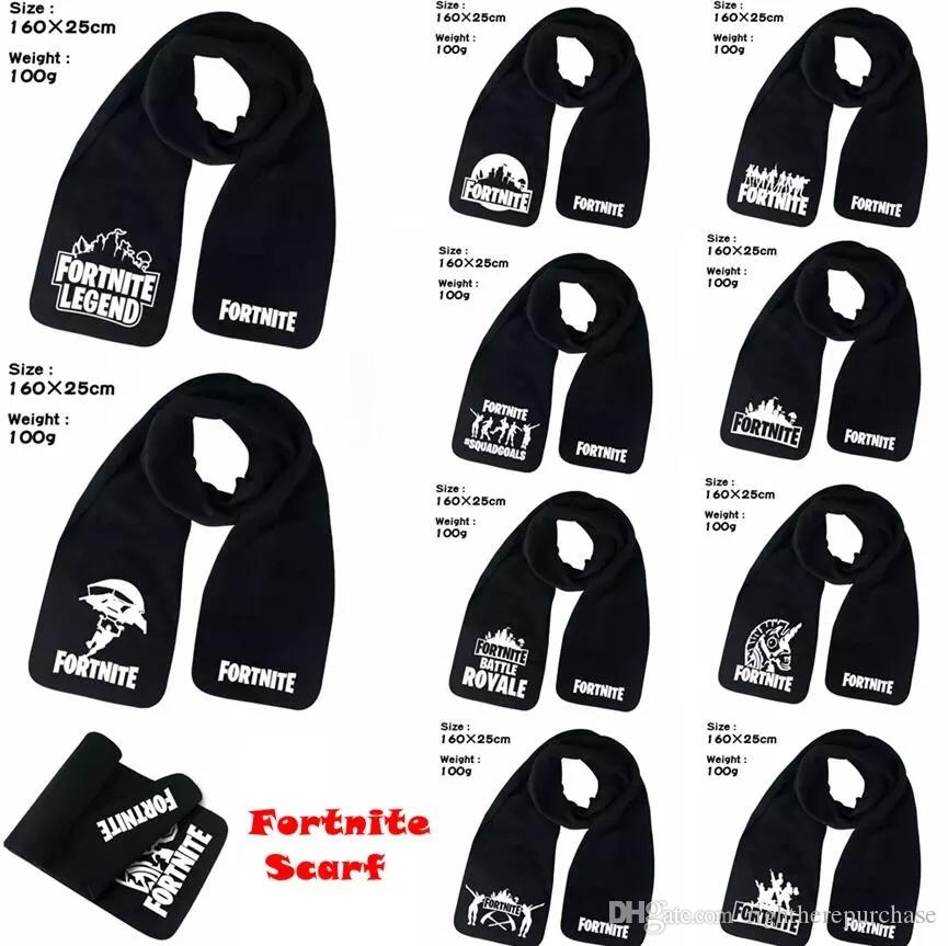 f0801a59ea8 Game Fortnite Battle Royal Scarf Game Neckerchief Winter Warm Muffler  Unisex Men Women Black Scarves 10styles Online with  4.96 Piece on  Rightherepurchase s ...