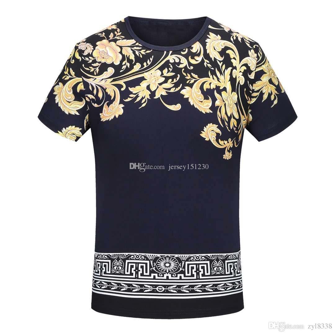 132e5f42 Designer Tshirt Mens T Shirts Top Quality New Fashion Tide Shoes ...