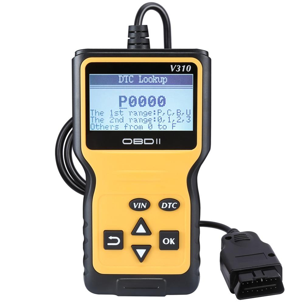 Pumpkin OBD2 Scanner Auto OBDII Scan Tool With 3 inch LCD Monitor OBD 2 OBD  II ELM 327 Car Diagnostic Tool Auto Scanner