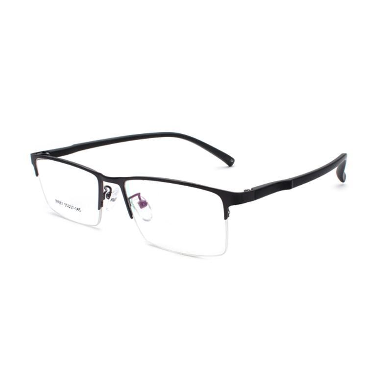 79d0e78f78 Compre Anteojos Sin Montura De Negocios Marco De Forma Rectangular Gafas  Graduadas De La Marca De Moda Gafas Para Hombre A $31.62 Del Milknew |  DHgate.Com