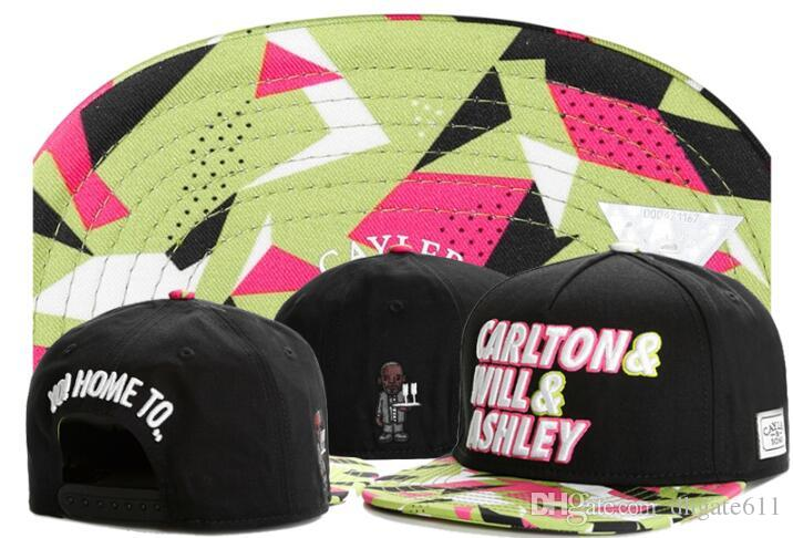 31552fdb7d1 2019 Wholesale Cayler Sons Snapback Hats Casquette Bone Sport Cap Redskins  Carlton Will Ashley Home To Dad Hat Cayler Son Adjustable Cap Caps Lids  From ...