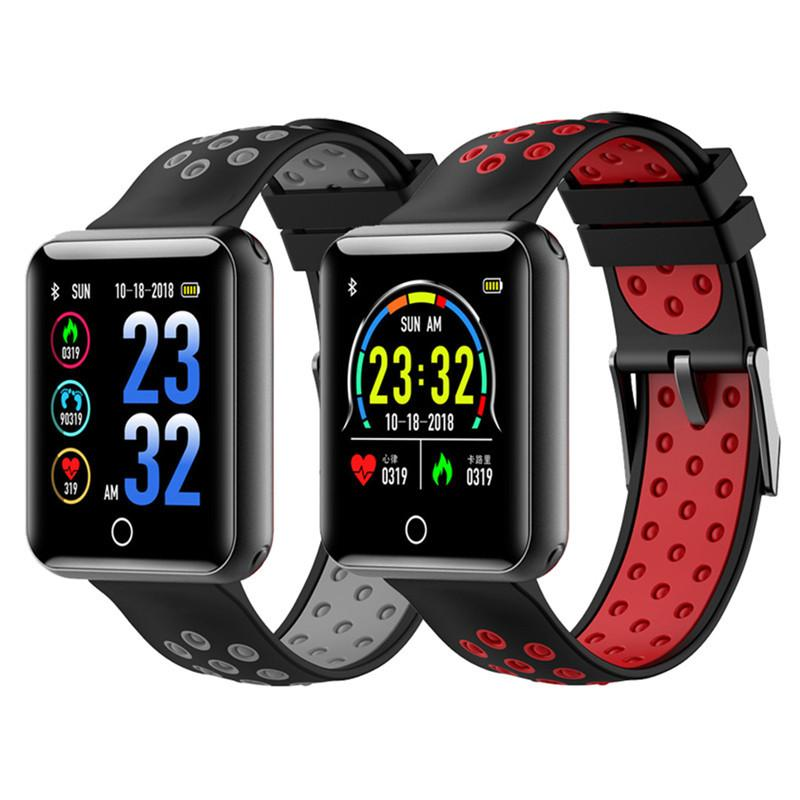e5c54a002 Q18 Smart Watch IP68 Waterproof Blood Pressure Heart Rate Monitor Fitness  Tracker Smart Wearable Device Electronic Watch Wristwatch Best Smart Watch  From ...