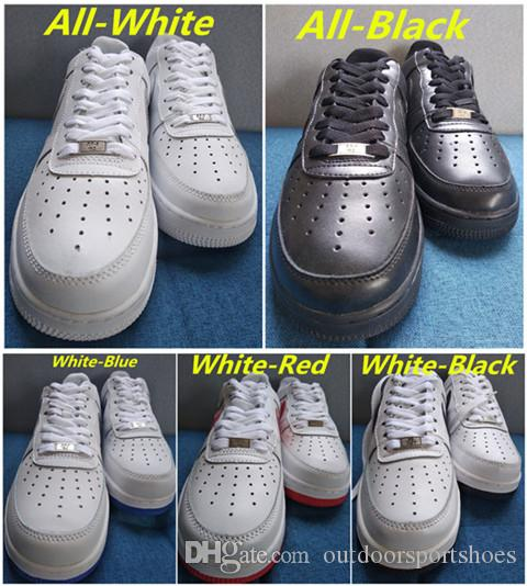 024e030a10ec2 2019 Classical Triple White Black Low High Cut Forces Men Women ...