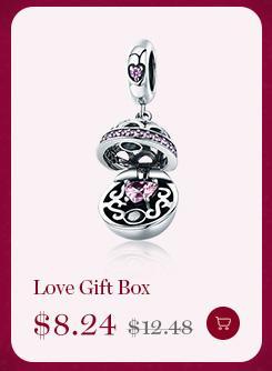 WOSTU Настоящее Стерлингового Серебра 925 Forever Love Heart, черный CZ Серьги Стержня Для Женщин Серебряные Серьги Ювелирный Подарок Любовнику CQE445