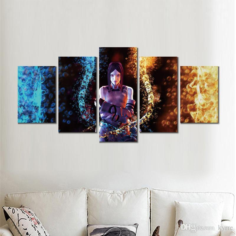 Canvas prints art drakengard 5 modular pictures wall pictures printed on canvas for decor no frame