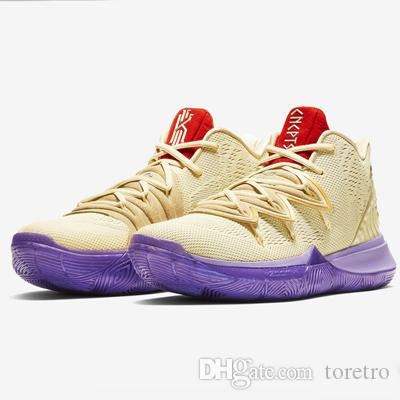 d979eb45c72a 2019 Kyrie 5 Ikhet Casual Shoes Men Sports Sneakers For Sale Best Quality  Irving 5 Sneakers With Box 7 12 From Toretro