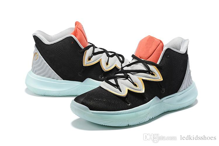 cfb4399a9960 2019 Kyrie V Ikhet Dusk Friends Family Hot Sales With Box Irving 5 Outdoor  Shoes Store Wholesale Size 40 46 From Ledkidsshoes