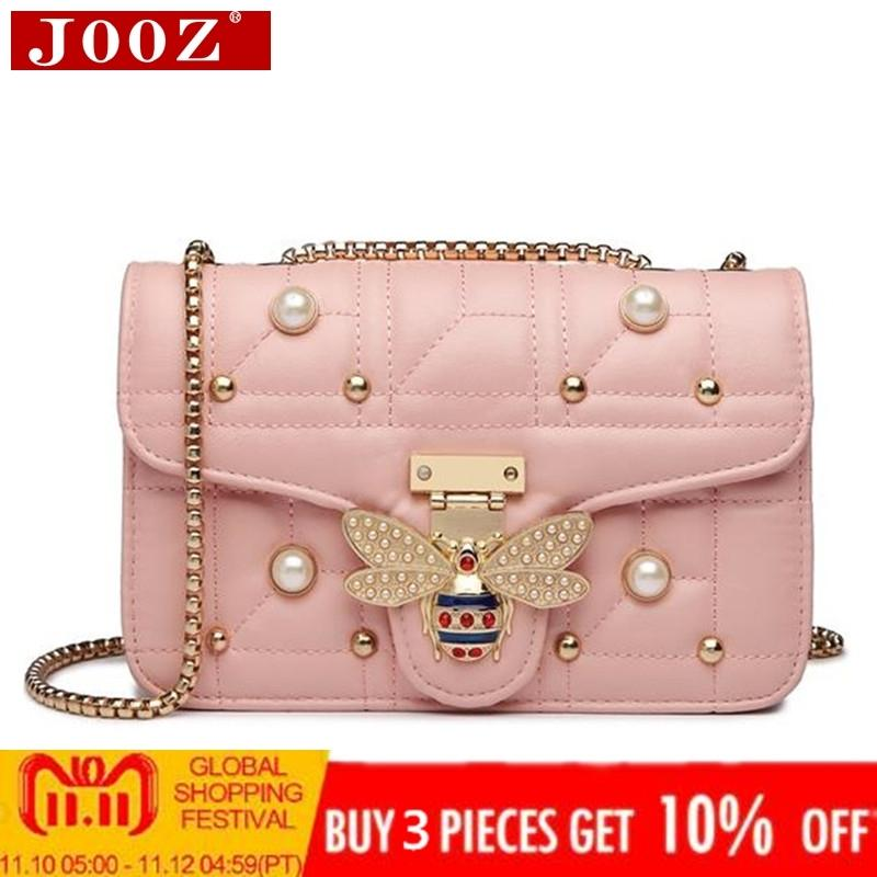 811e758fc4 2019 Fashion 2018 NEW Designer Women Shoulder Bag Chain Strap Flap Brands  Leather Handbags Clutch Bag Girls Messenger Bags With Bee Buckle Fiorelli  Handbags ...