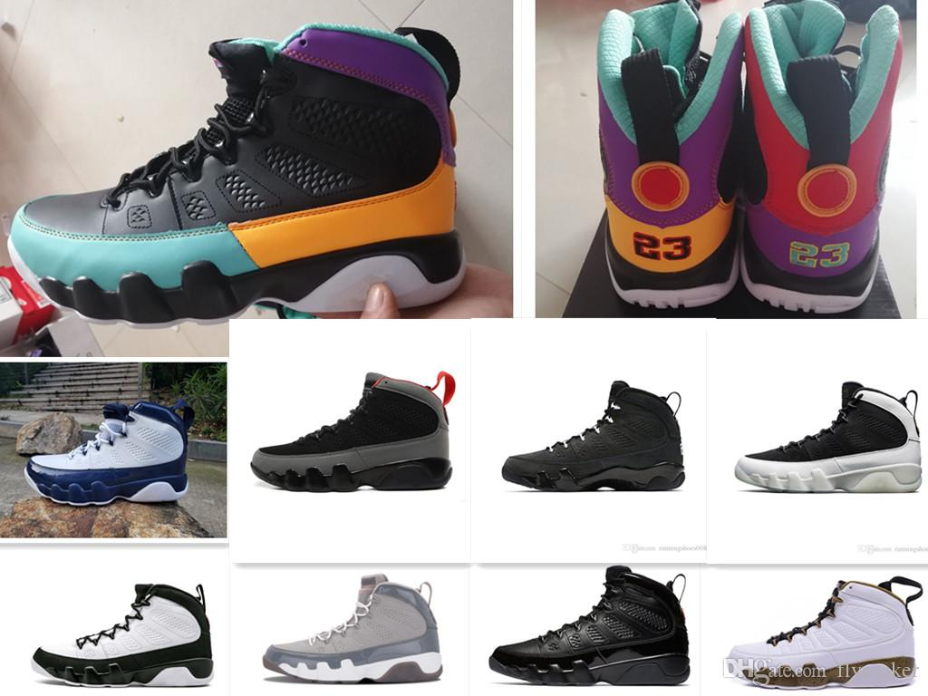 the best attitude 03a12 87ce0 New 9 9s Dream It Do It UNC Mop Melo Mens Basketball Shoes LA OG Space Jam  Bred Anthracite sports sneakers 7-13