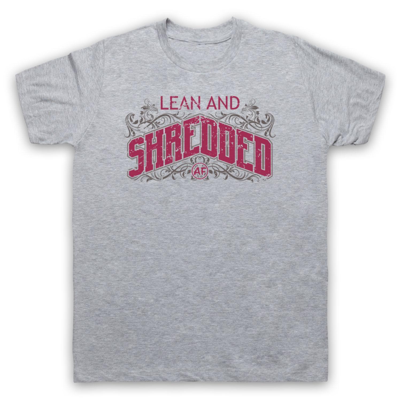 Lean And Shredded Af Bodybuilding Workout Slogan Gym Mens Womens