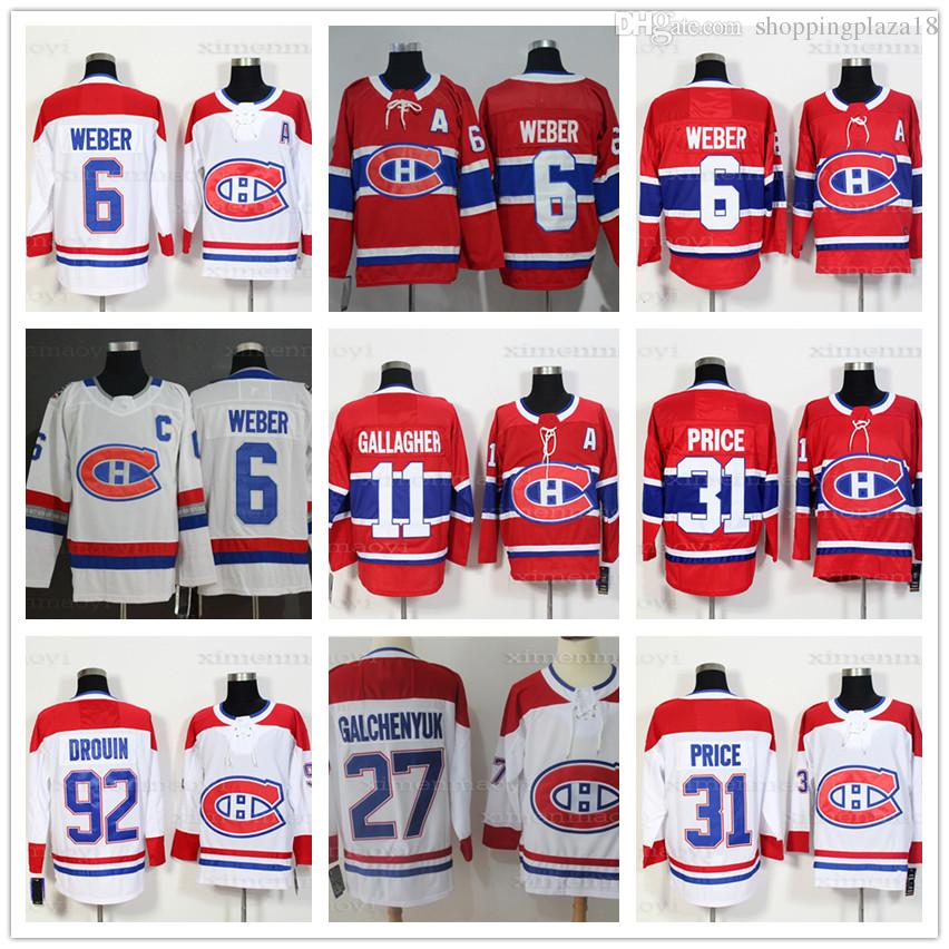 6c4f535f5 ... Jonathan Drouin 67 Max Pacioretty 11 Brendan Gallagher 27 Galchenyuk  Hockey Player Jersey Men s Montreal Canadiens Fanatics Branded Red Breakaway  White ...