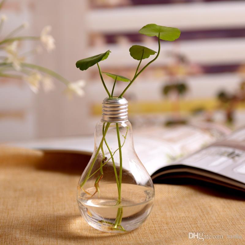 Spaß Blumentopf Glas Ball Vase Terrarium Wand Aquarium Aquarium Container