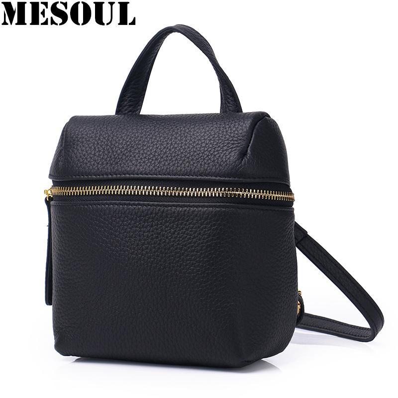 0b39d3ef49 Candy Color Mini Backpack Women Genuine Leather Travel Shoulder Bags Female  Purse Simple School Bag For Teenage Girls Backpacks Swissgear Backpack  Swiss ...