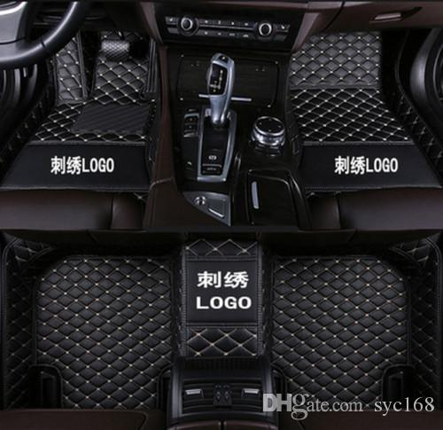 Car floor mat For Nissan GT-R 2012~2016 odorless easy to clean Luxury all-weather floor mat