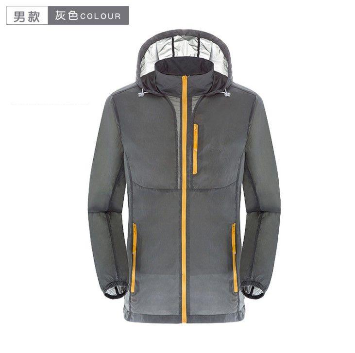 Winddicht New Jacke Hoodies Outdoor Mens Marke Womens Sonnenschutz S 2019 Mäntel Summer Gesicht Xxxl Und Wasserdicht Casual Regen 43LqRj5A
