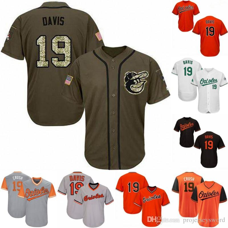 5b490577e 2019 Mens 19 Chris Davis Baltimore Jersey 100% Stitched Chris Davis Flex  Base Cool Base Orioles Baseball Jerseys From Projerseysword