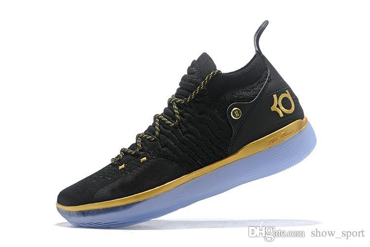 a2502780026 New Designer Shoes KD 11 Basketball Shoes Kevin Durant 11s Zoom Mens  Running Athletic Off Shoes White Luxury EP Elite Low Sport Sneakers Low Top  Basketball ...