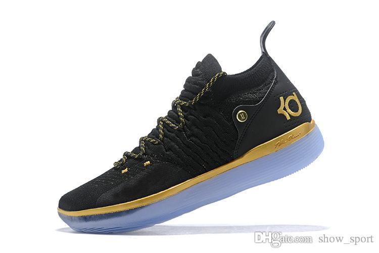 cheap for discount d0633 a994b Acheter Nouveau Chaussures De Designer KD 11 Chaussures De Basket Kevin  Durant 11s Zoom Hommes Courir Athletic Off Chaussures Blanc Luxe EP Elite  Low Sport ...