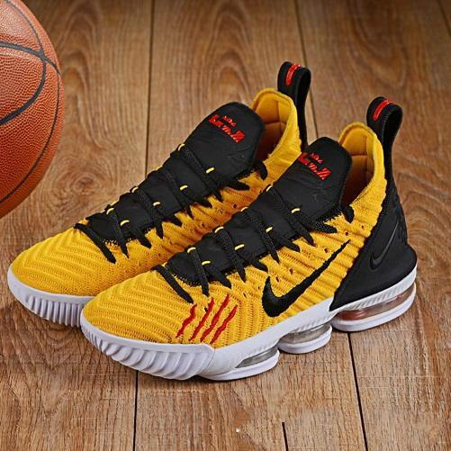 buy online ca667 6b63e Cheap new mens lebron 16 basketball shoes Purple Green All Red Orange  Yellow Gold Bruce Lee youth kids lebrons XVI sneakers tennis with box