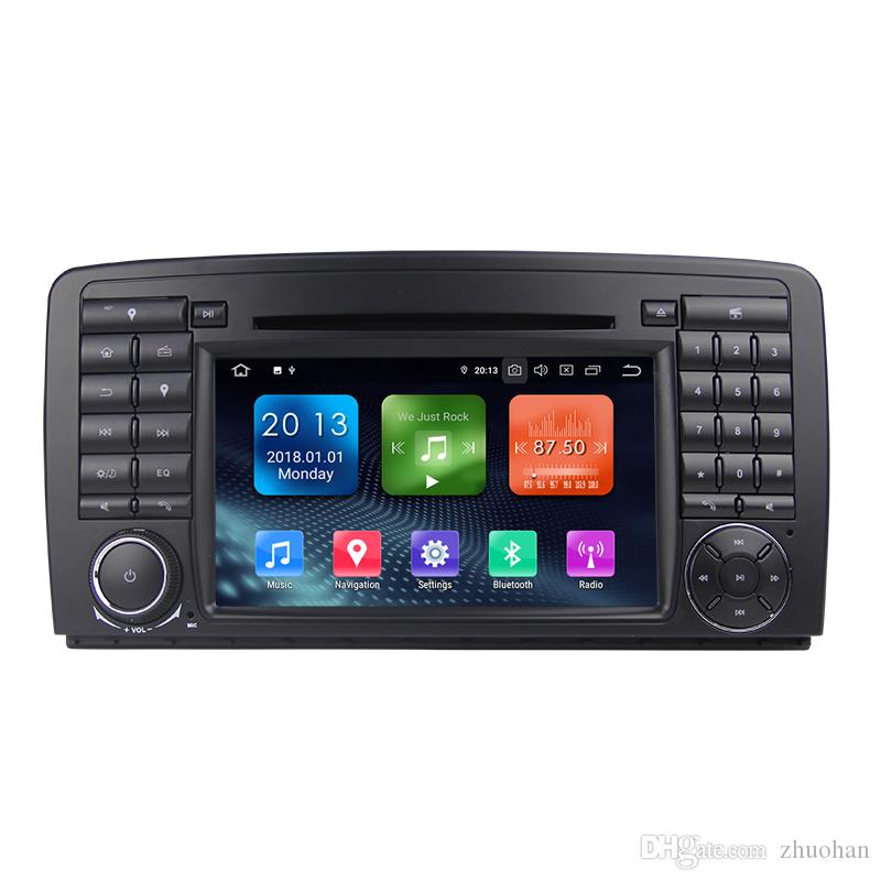 Zhuohan 7 Inch HD Android Car DVD Player for BENZ R Class W251 with Bluetooth GPS (AD-L7081)
