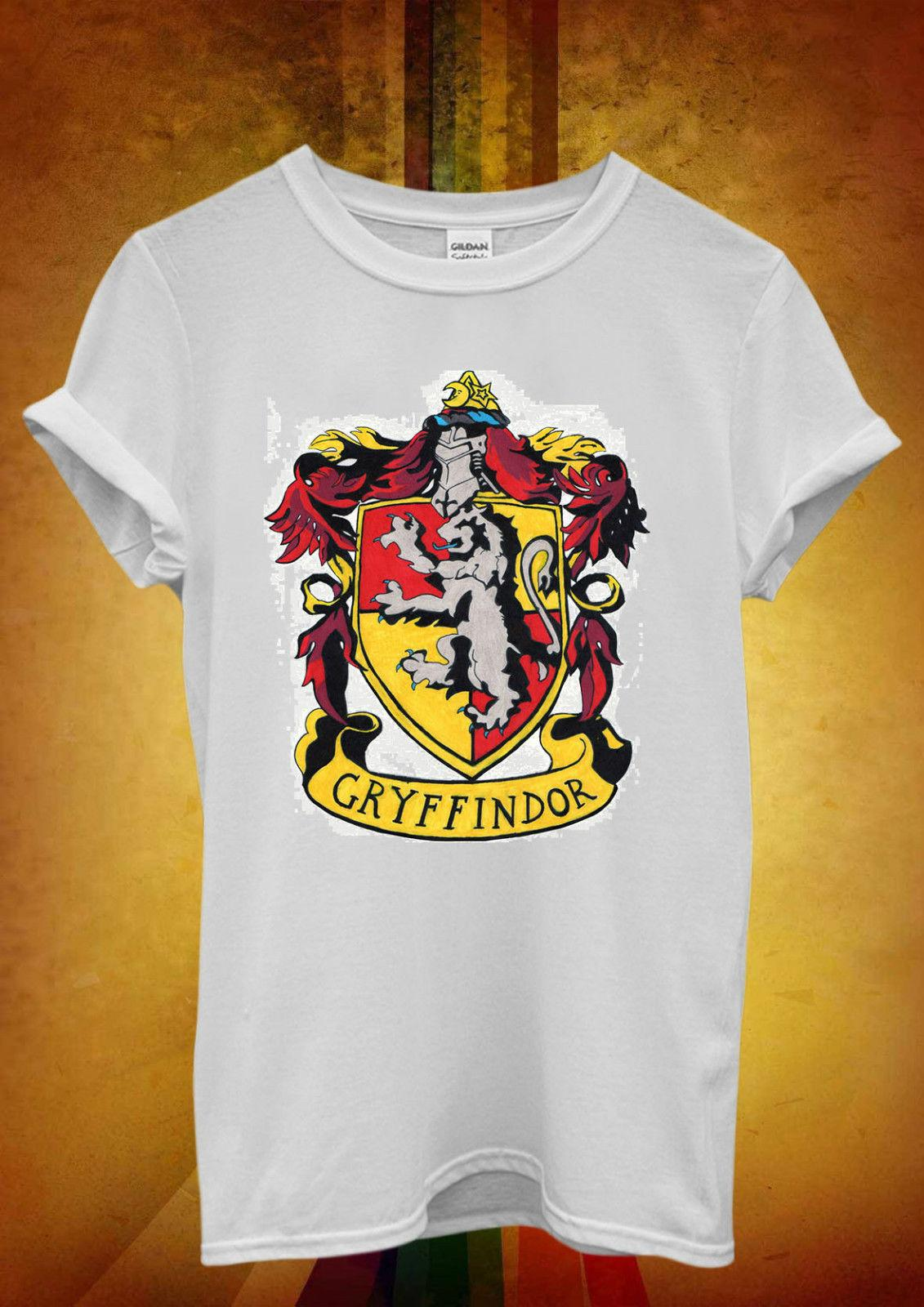 274c21a65 Harry Potter Gryffindor Funny Cool Men Women Unisex T Shirt Tank Top Vest  150 2018 Funny Tee ,Cute T Shirts Man ,100% Cotton Cool , 24 Hour Tee  Shirts T ...