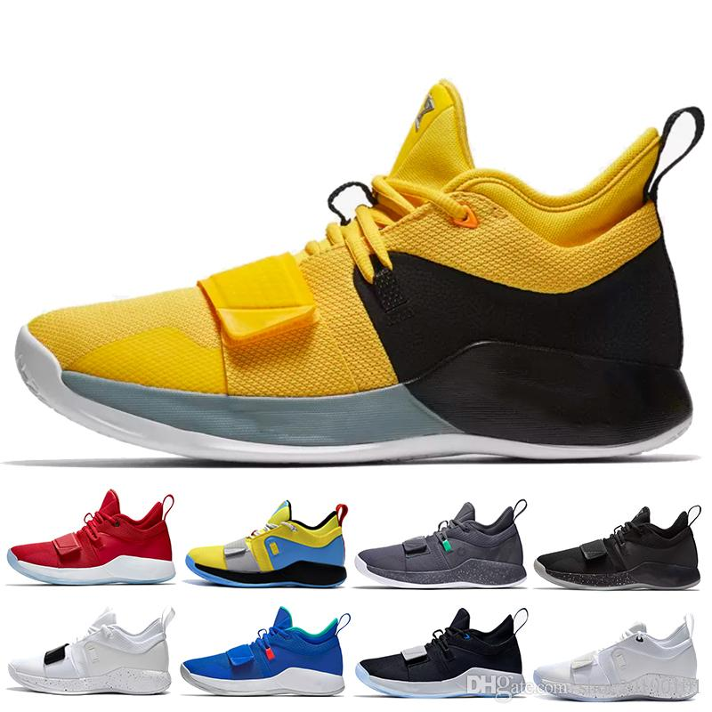 release date: 0947f df9e7 Top Quality Paul George 2.5 Basketball Shoes Whtie Black Red Men Outdoors  PG 2.5 Designer Trainer Sneakers AIR Athletic Shoes EUR40-45