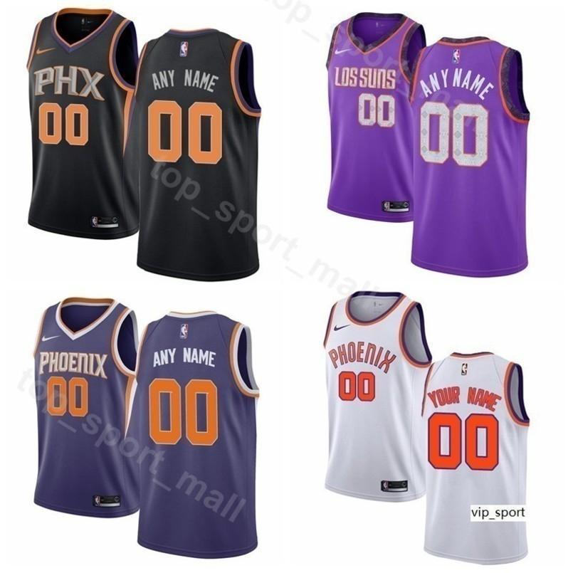 2844f946bc7 2019 Man Kids Woman Print Suns Basketball Josh Jackson Jersey Phoenix Mikal  Bridges Richaun Holmes Jamal Crawford Troy Daniels Shirts From Vip sport