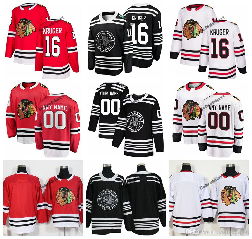 739c2af09 2019 2019 Winter Classic Marcus Kruger Chicago Blackhawks Hockey Jerseys  New Black  16 Marcus Kruger Stitched Jerseys Customize Name From  Redtradesport