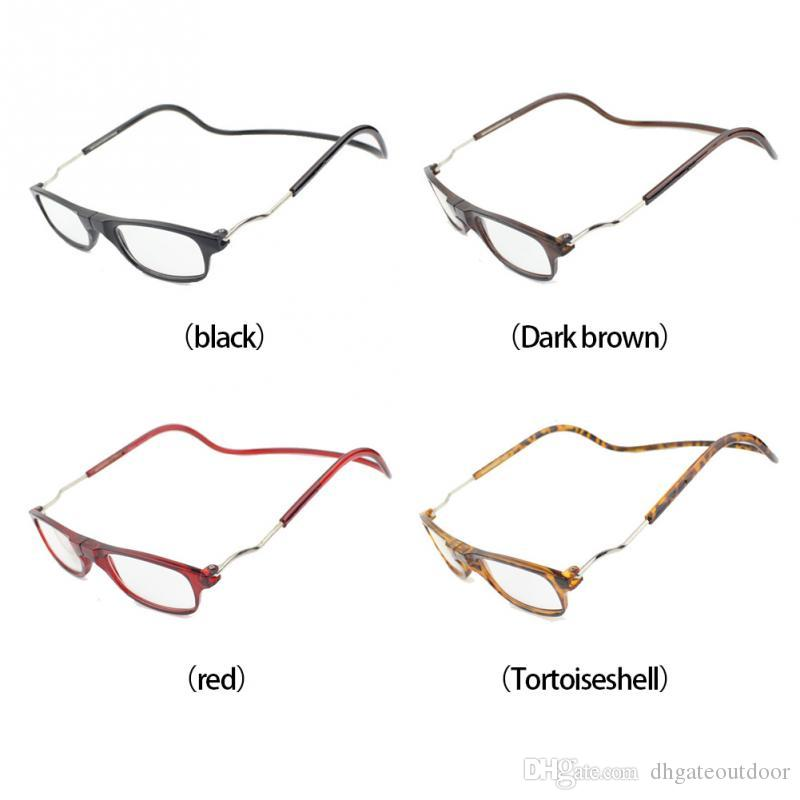 7f713b492c21 2019 Magnetic Presbyopic Glasses Adjustable Glasses Eyewear Reading Glasses  Hanging Neck Unisex Men Women Colorful Glass Cycling Eyewear From  Dhgateoutdoor
