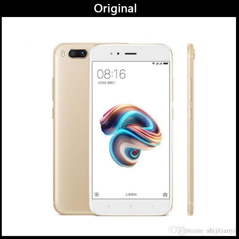 Neue Original Xiaomi Mi 5X Mi5X Handy 4GB 64GB Löwenmaul 625 CPU Dual 12MP Kamera 1920x1080p Full Metal Fingerprint